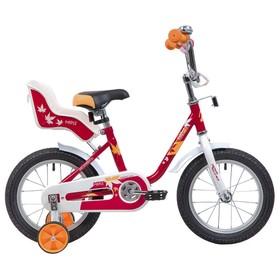 """Велосипед 14"""" Novatrack Maple, цвет красный"""