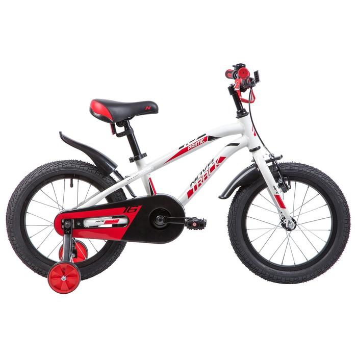 """Велосипед 16"""" Novatrack Prime, 2019, цвет белый"""