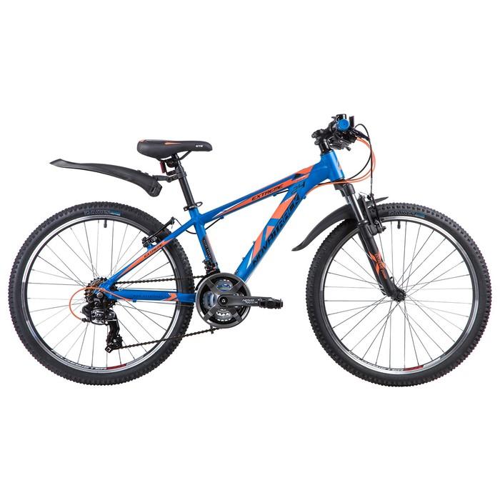 """Велосипед 24"""" Novatrack Extreme, 2019, цвет синий, размер 13"""""""