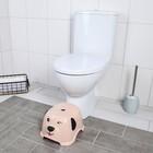 """Подставка детская """"Собачка"""", цвет розовый - фото 971872"""