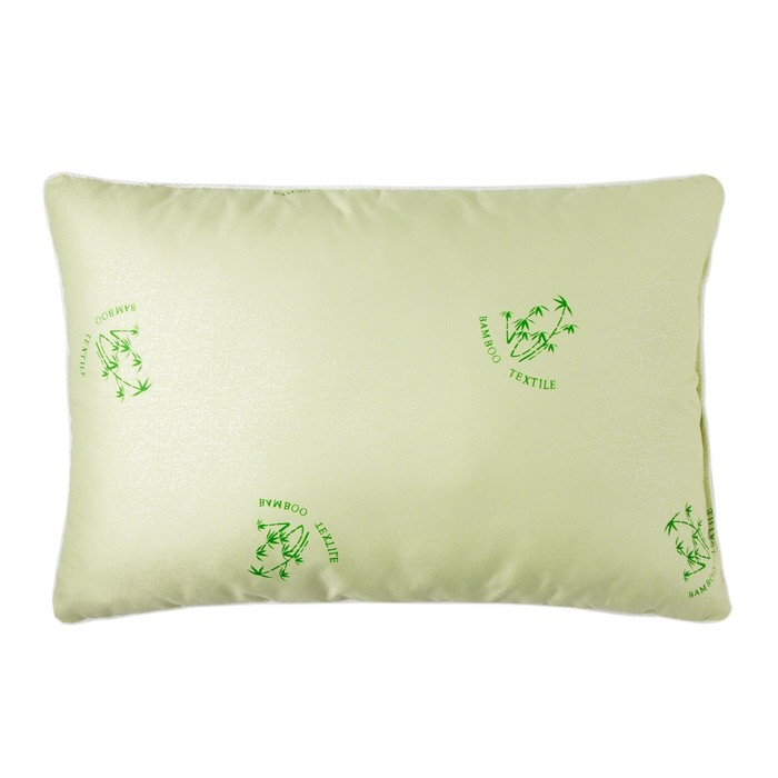 Подушка Экономь и Я «Бамбук», размер 40х60 см, цвет МИКС