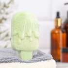 "Шипучая бомбочка ""Мороженка"" с ароматом яблока, зелёная - фото 1634179"