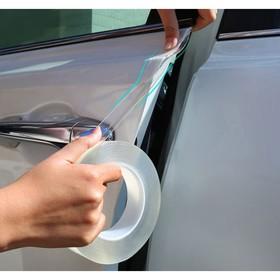 Автомобильная защитная лента TORSO, прозрачная, односторонняя, 3х300 см Ош