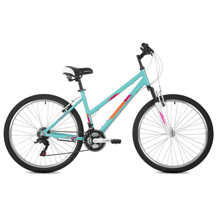 """Велосипед 26"""" Foxx Bianka, 2020, цвет зелёный, размер 17"""""""