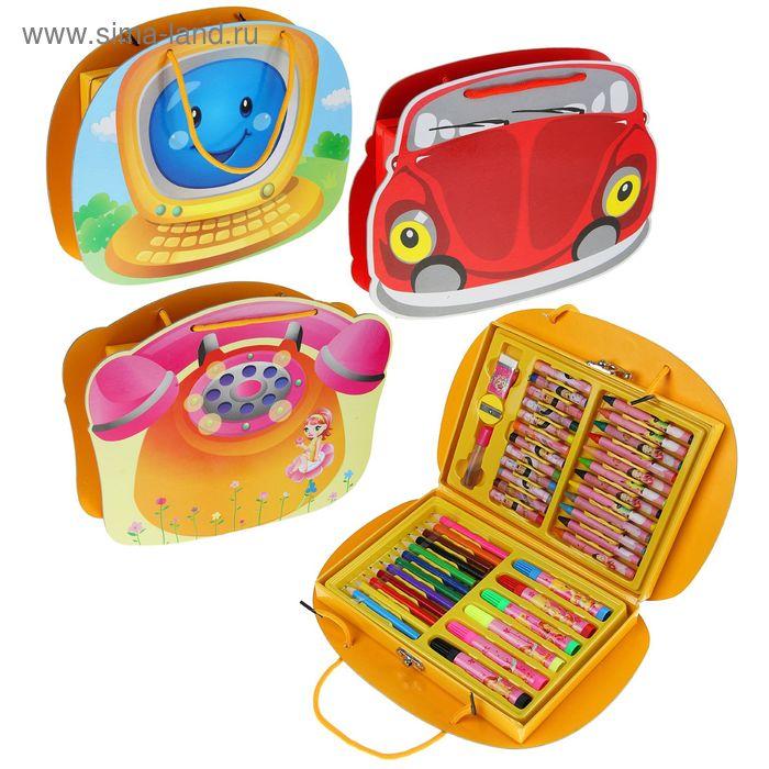 Набор для детского творчества, 45 предметов, микс