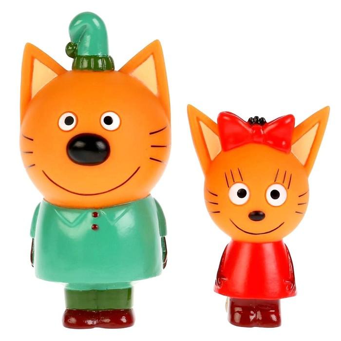 """Игрушка для ванны """"Три Кота. Карамелька и Компот"""""""