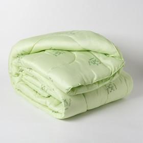 Одеяло Эконом Бамбук 140х205 см, полиэфирное волокно, 300гр/м, пэ 100%
