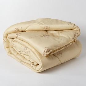 Одеяло Эконом Верблюжья шерсть 140х205 см, полиэфирное волокно, 200г/м2, пэ 100%