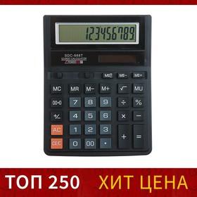 Калькулятор настольный 12-разрядный SDC-888T 1-питание от батарейки-таблетки Ош