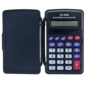 Калькулятор карманный 08-разрядный KK-328 с мелодией Ош