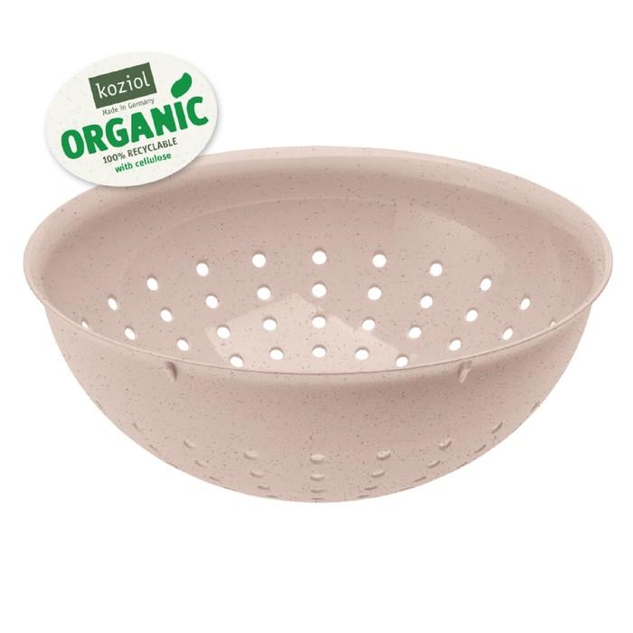 Дуршлаг Palsby m organic, 2 л, розовый