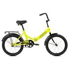 """Велосипед 20"""" Altair City, 2020, цвет светло-зеленый/черный, размер 14"""""""