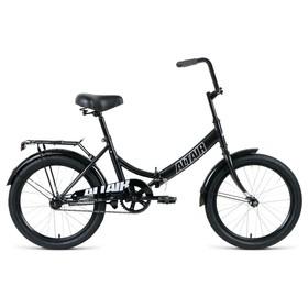 """Велосипед 20"""" Altair City, 2020, цвет черный/серый, размер 14"""""""