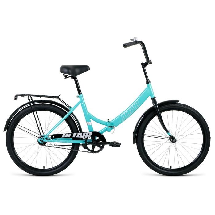"Велосипед 24"" Altair City, 2020, цвет мятный/серый, размер 16"""