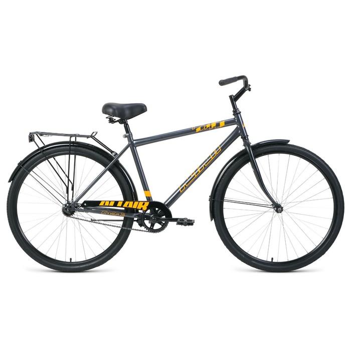 """Велосипед 28"""" Altair City high, 2020, цвет серый/оранжевый, размер 19"""""""