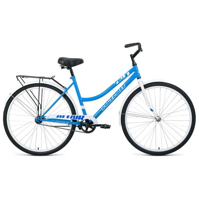 """Велосипед 28"""" Altair City low, 2020, цвет синий/белый, размер 19"""""""