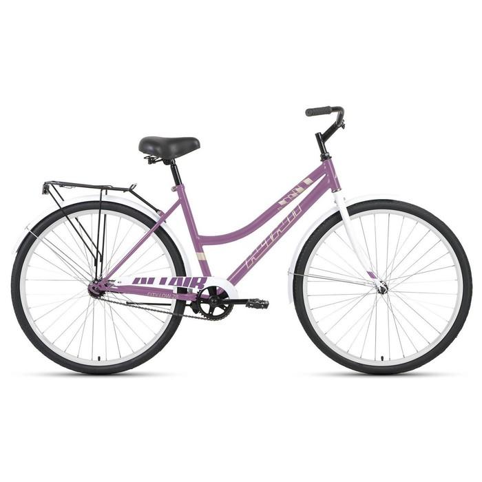"""Велосипед 28"""" Altair City low, 2020, цвет фиолетовый/бежевый, размер 19"""""""