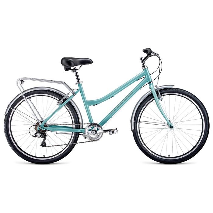 "Велосипед 26"" Forward Barcelona Air 1.0, 2020, цвет мятный, размер 17"""