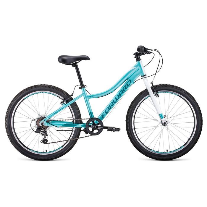 """Велосипед 24"""" Forward Jade 1.0, 2020, цвет мятный, размер 13"""""""