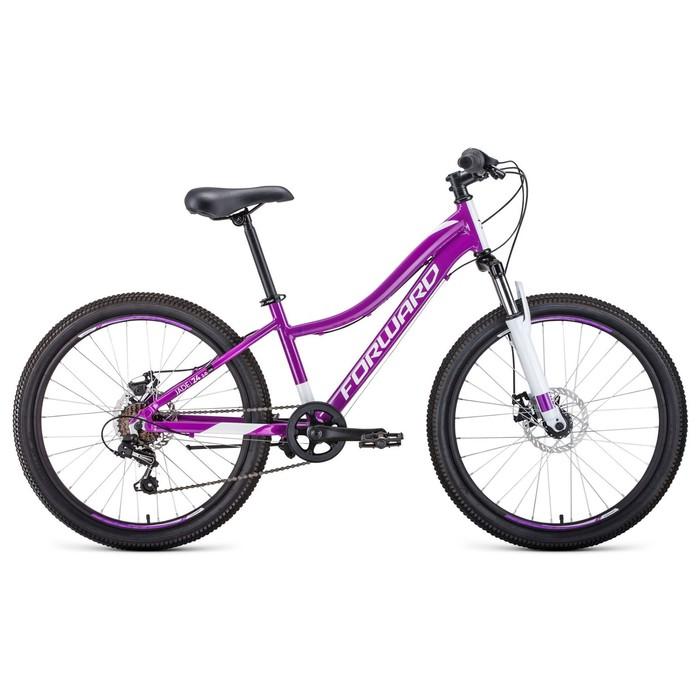 """Велосипед 24"""" Forward Jade 2.0 disc, 2020, цвет фиолетовый, размер 13"""""""