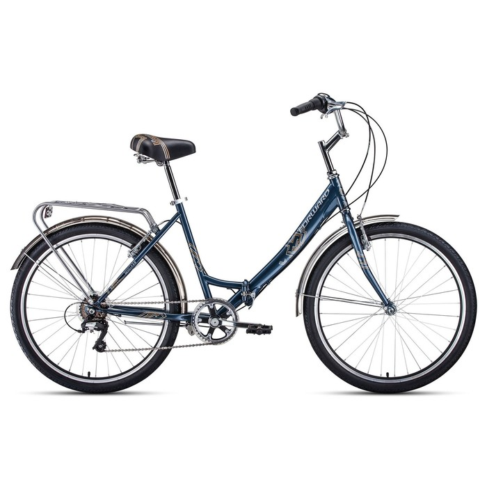 "Велосипед 26"" Forward Sevilla 2.0, 2020, цвет серый/серебро, размер 18.5"""