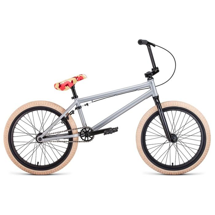 """Велосипед 20"""" Forward Zigzag, 2020, цвет серый"""