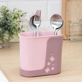 Органайзер для ванных принадлежностей «Cтиль», 16×8,4×15 см, цвет МИКС Ош