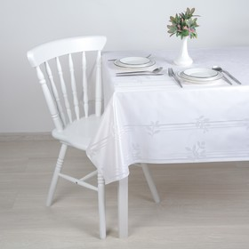 """The oilcloth a dining room on the fabric (roll 20 metres), width 137 cm """"Lepestki"""""""