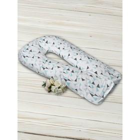 Наволочка к подушке для беременных Soft Collection, размер 35×340 см, треугольник