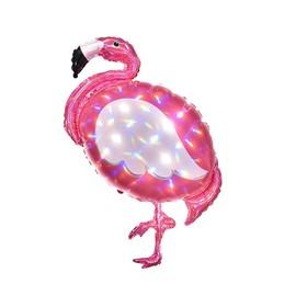 """Шар фольгированный 33"""" «Фламинго», цвет розовый"""