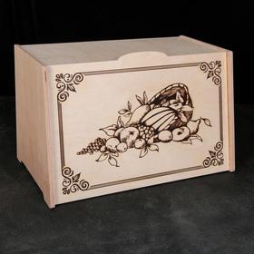 Хлебница деревянная, 25,5×24×39 см
