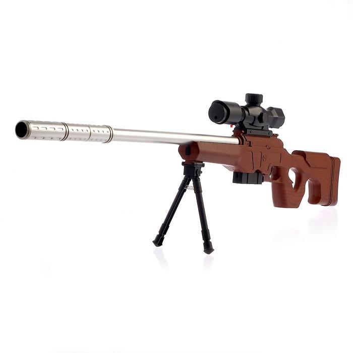 Снайперская винтовка «Сокол», с лазерным прицелом