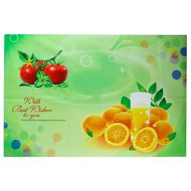 Наклейка на кафельную плитку 'Апельсины и томаты' 90х60 см Ош