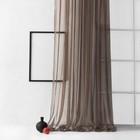Портьера «Грик»,  размер 300 × 270 см, цвет венге