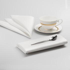 Комплект салфеток «Густав», размер 43 х 43 см - 6 шт, цвет белый