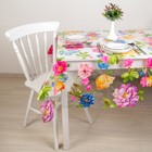 """Oilcloth PVC (roll of 30 metres), width: 137cm, thickness 0.08 mm the """"Garden"""""""