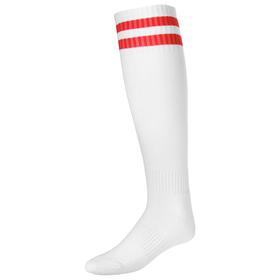 Гетры футбольные, размер 38-44, цвет белый