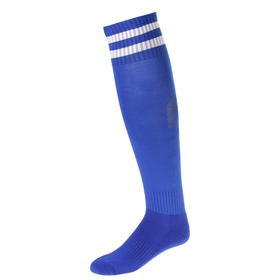 Гетры футбольные, размер 38-44, цвет синий