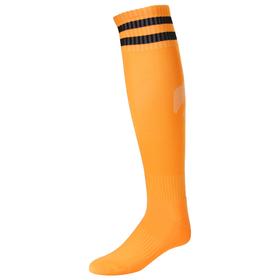 Гетры футбольные, размер 38-44, цвет оранжевый