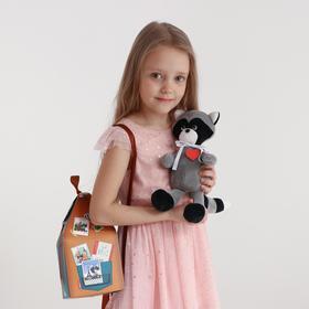 Мягкая игрушка «Енот Веня с сердечком»
