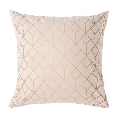 Pillowcase Ethel Grid of 70*70 ± 3 cm,100% cotton, calico 125 g/m2