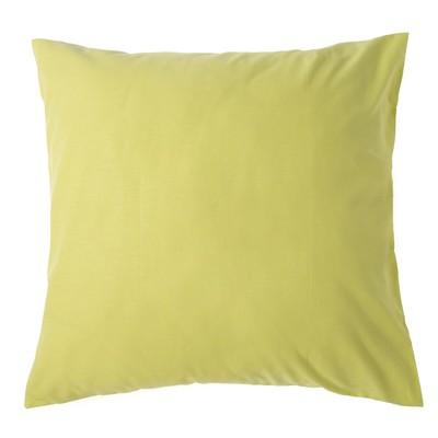 Pillowcase 70*70 Ethel,Col.green, calico, 125 gr/m2,100% cotton
