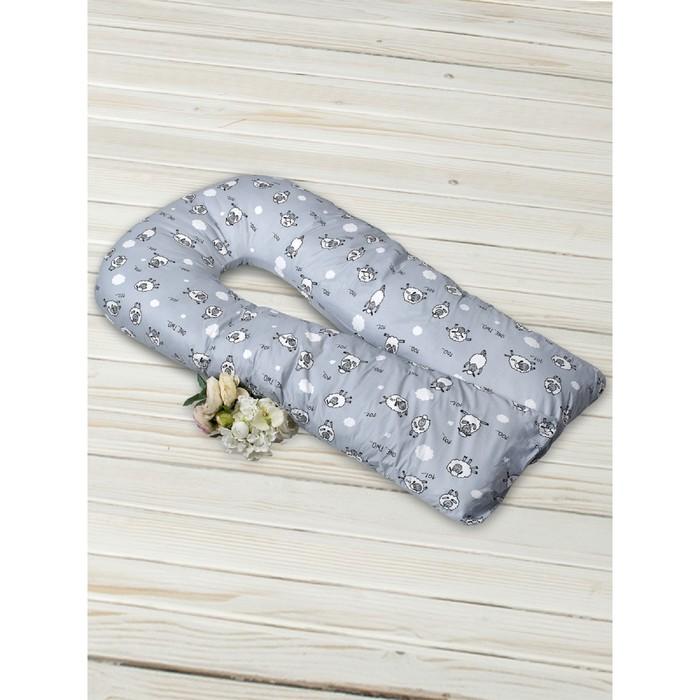 Подушка для беременных Collection U-образная, размер 35 × 340 см, 101 барашек