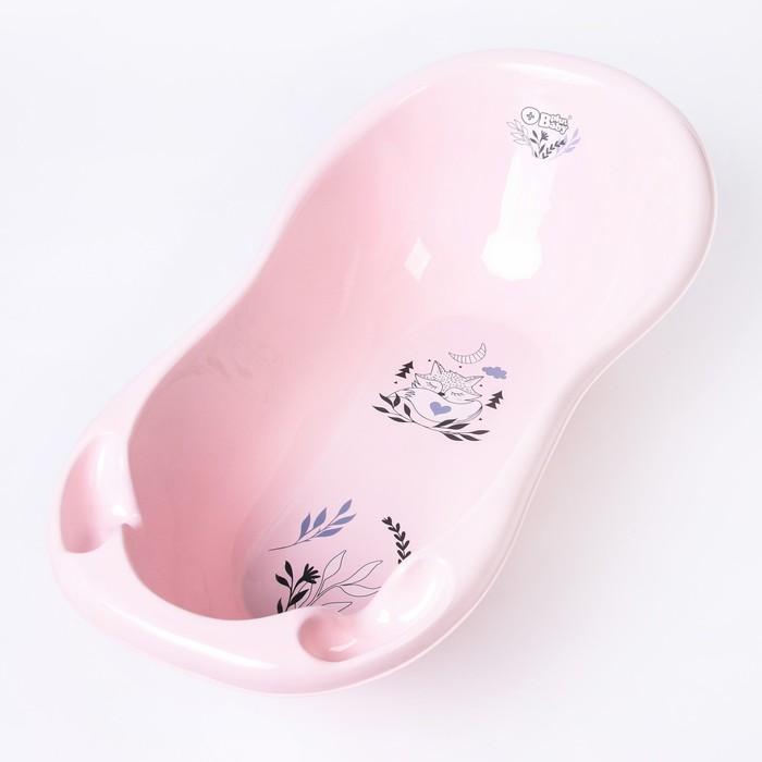 """Ванна детская """"Лисенок"""" 102 см., цвет светло-розовый - фото 961422"""
