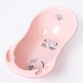 """Ванна детская """"Лисенок"""" 86 см., цвет светло-розовый"""