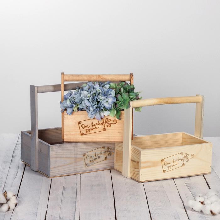 деревянные короба для цветов фото можете узнать