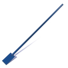 Ice ax, width 100 mm, with metal handle