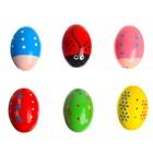 Maracas Egg 4,5x4,5x7 cm MIX