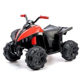 Электромобиль «Квадроцикл», 2 мотора, цвет красный