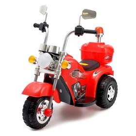 Электромобиль «Чоппер», цвет красный